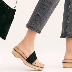 Free People Azure Footbed Sandals